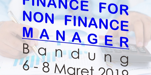 FINANCE FOR NON FINANCE MANAGER – Almost Running