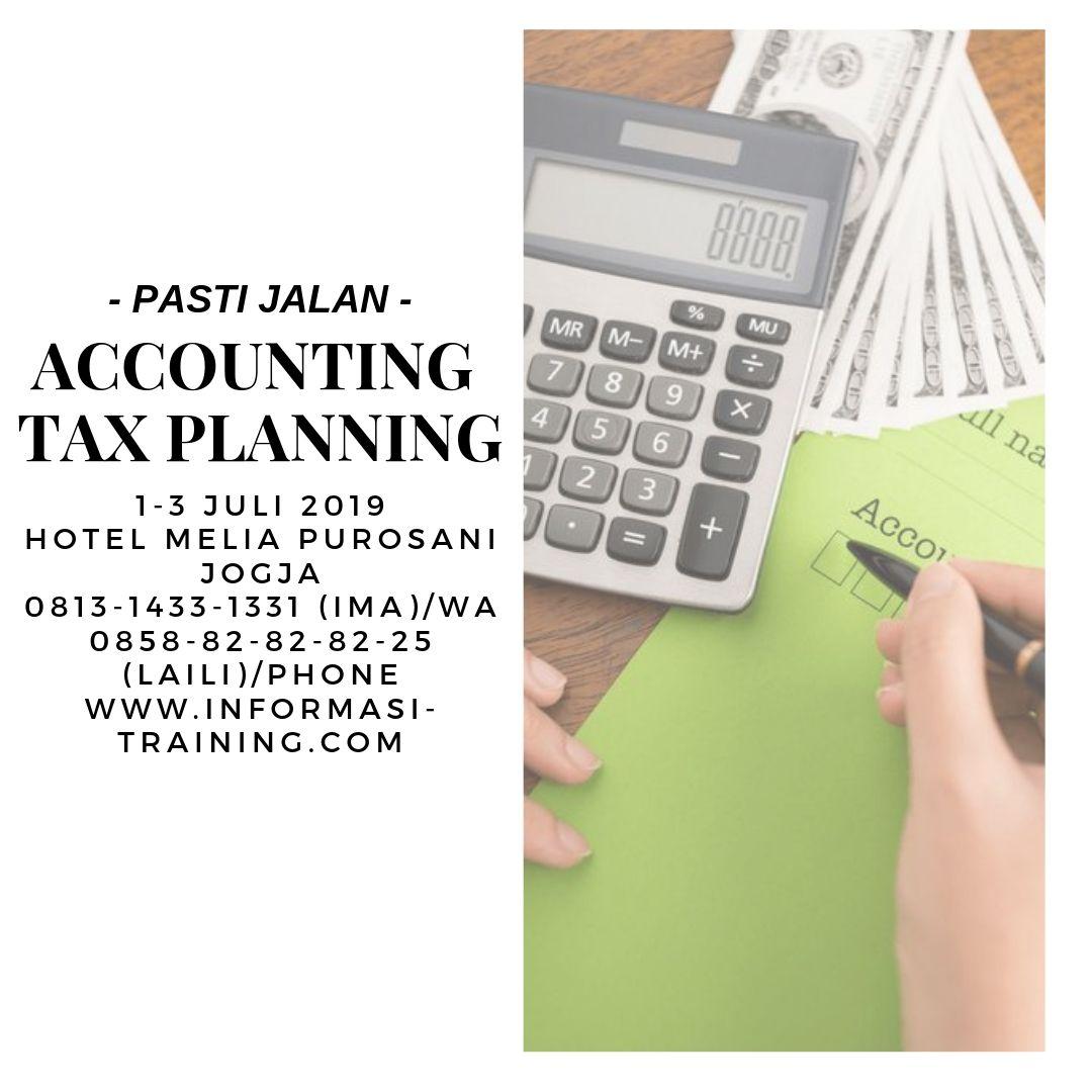Perencanaan keuangan dan pajak