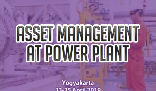ASSET MANAGEMENT AT POWER PLANT – Almost Running