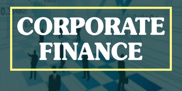 CORPORATE FINANCE – Almost Running