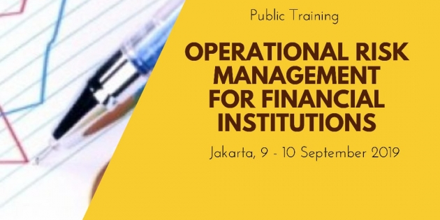 OPERATIONAL RISK MANAGEMENT FOR FINANCIAL INSTITUTIONS